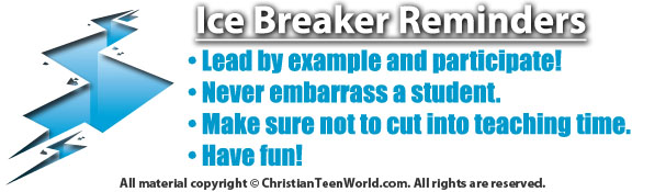 icebreakerrules Ice Breaker: Connection