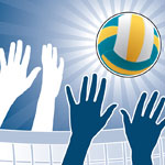 06302010 Group Game: Blind Volleyball